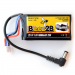2S 7.4V 1000mAh Lipo battery for FPV Fatshark headset