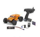 ECX Ruckus 1/18 4WD Monster Truck orange et jaune