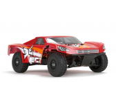 ECX Ruckus 1/18 4WD Monster Truck orange et rouge