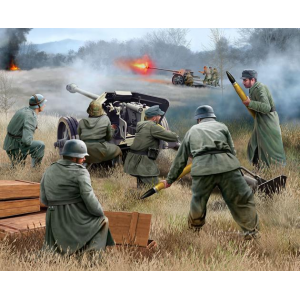 German 7,5 cm PaK40 & soldiers Revell - REV-02531