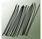 Collier Rilsan nylon noir 2,5x200mm (20 pcs)