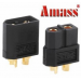 Amass XT60 Bullet Connector Plugs For RC Battery Motor Black