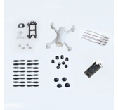 Kit de Crash Hubsan H107C