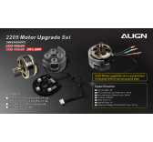 M425022XXT Kit Motorisation 2205 Upgrade MR25 ALIGN - M425022XXT