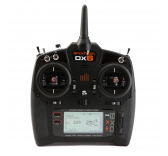 DX6 V2 Mode 2   recepteur AR610 Spektrum