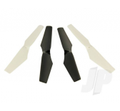 Shadow 240 Propeller/Rotor Blade Set (2 White, 2 Black) by Ares